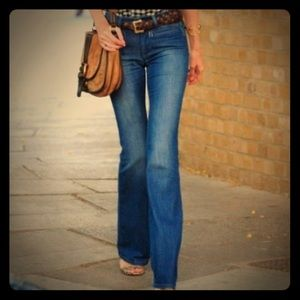 Tory Burch classic flare jeans